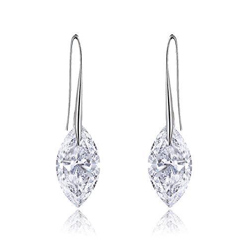 2015 Hot Fashion Exotic Geometric Designs Women Glossy Hoop Earrings Gle1332 (Black)