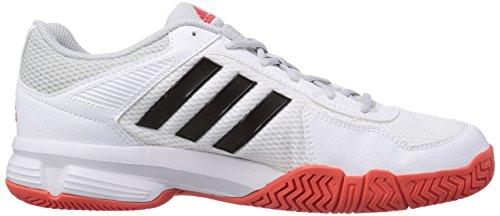 adidas Performance Barracks F10 Herren Hallenschuhe Weiß (Ftwr White/Core Black/Bright Red)