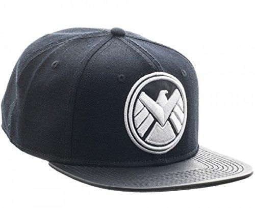 Marvel Comics Agents of Shield Homeland Logo Adjustable Snapback (Shield Logo Cap)