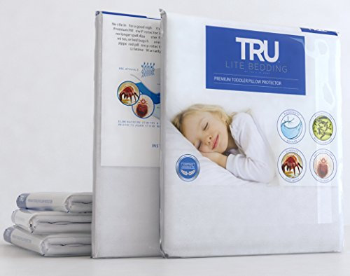 TRU Lite Bedding Pillow Protector Case - 100% Waterproof - Protection From (Slide Protector Case Cover)