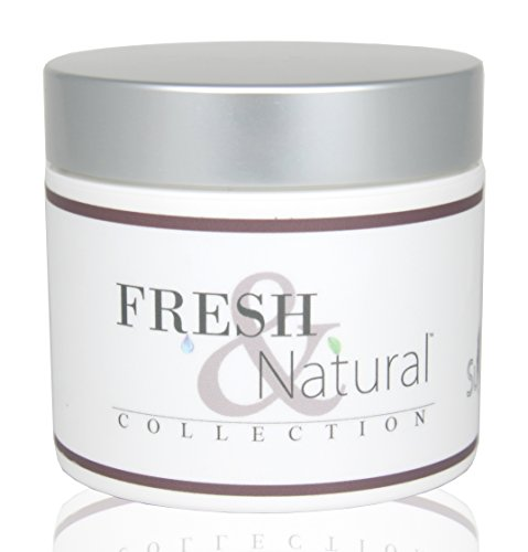 Fresh & Natural Skin Care Sugar and Shea Body Polish, Blackberry & Plum, 4 Ounce