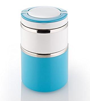 739d18e081fa76 isotherme – Boîte de maintien au chaud – lunch box – Boîte à pain 2 niveaux