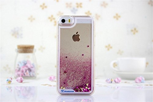borch-fashion-sparkling-stars-quicksand-liquid-hard-case-cover-for-iphone-5-5g-5s-pink