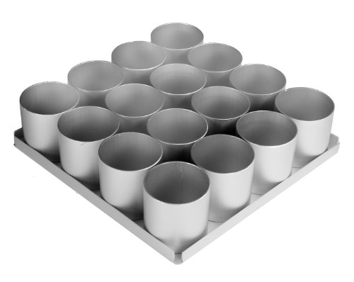 Alan Silverwood 16 Piece 2 in Round Cake Pan Set by Alan Silverwood