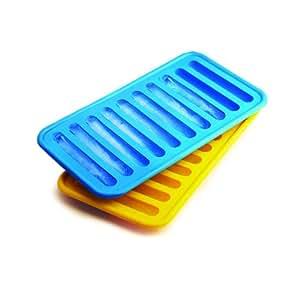 SiliconeZone Non-Stick Silicone Ice Tube Tray (2-Pack)