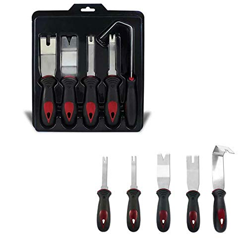 US DELIVER 5 Piece/Set car Panel Removal Trimming Tool for car Instrument Radio Audio Mounter cookware by US DELIVER (Image #8)
