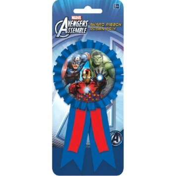 Avengers Confetti-Filled Award Ribbon