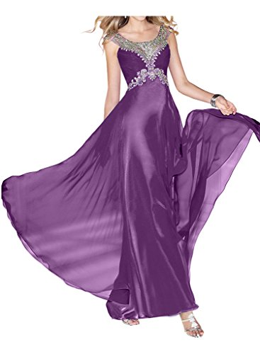 Promgirl House - Robe - Trapèze - Femme -  violet - 48
