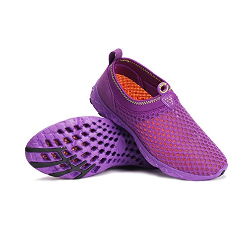 Backpacking Top Cotton Running Purple Winter Outdoor Shoes Hiking Sports Shoes Women's High Traveling ZzHxnnI