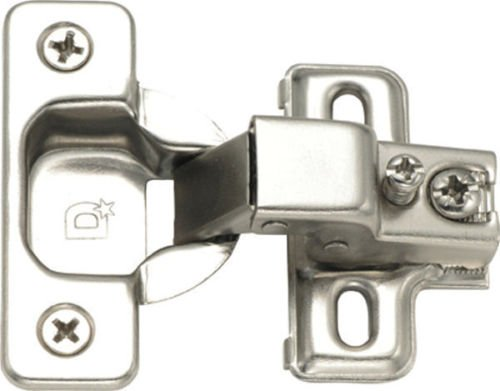 New Face Frame Concealed Cabinet Hinges Self Closing 1150 wd Compact Euro 25 Lot Pack