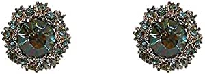Al jubeiha korean and japanese style fashion crystal earring for girls