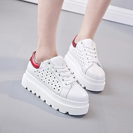 scarpe SDKIR spessa modelli femminili di con zeppa battuto strada la vdaqxp6zwd