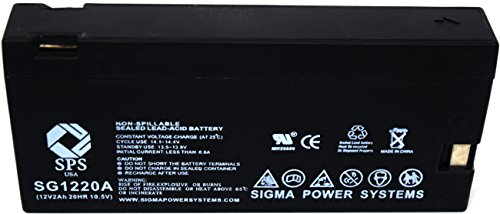 (SPS Brand 12V 2Ah Replacement Panasonic Camcorders OmniMovie VHS AFX8 (Camcorder Battery) (1 Pack))