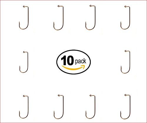 1000 EAGLE CLAW 570 JIG HOOKS SIZE #2 BRONZE by Eagle Claw