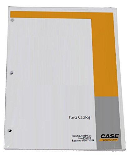 Manual Book Catalog Loader Parts (Case 580 Super M, 580SM Backhoe Loader Parts Catalog Manual - Part Number 7-6091)