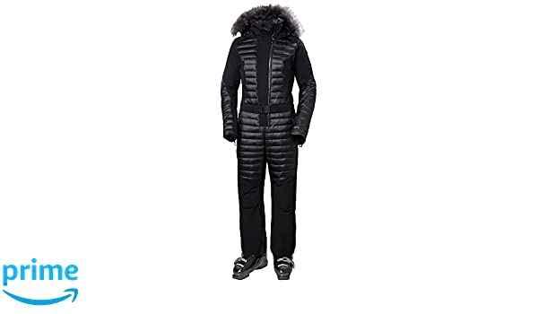 914043f0cc Amazon.com: Helly Hansen Women's Starlight Fitted Insulated Ski Suit, Black,  X-Large: Clothing