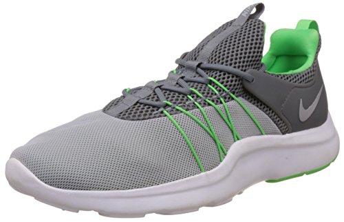 NIKE Men's Darwin Casual Shoes Lightweight Comfort Athletic Running Sneaker Wolf Grey/Cool Grey/Rage Green