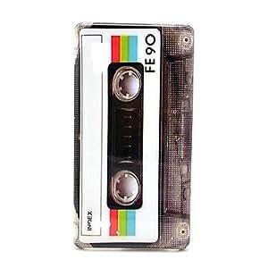 FE90 Cassette Pattern Hard Case for LG Optimus L9 P760