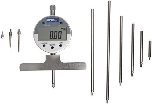 Fowler Full Warranty Electronic Depth Gauge Gage, 54-125-777, 0-22
