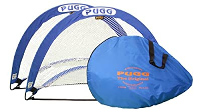 PUGG 4 Footer Portable Training Goal Boxed Set (Two Goals & Bag) | Computers