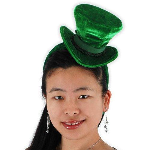 - elope Green Cocktail Top Hat Headband