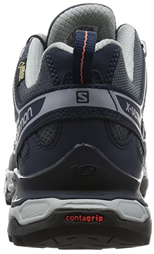 Femme Gris de X Salomon Tige 2 Denim Basse Bloom Ultra Deep Blue Melon à Chaussures Randonnée Grey GTX XPxxvqw