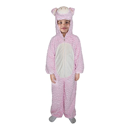 Totally Ghoul Halloween Girl Plush Costume Pig (Small 36