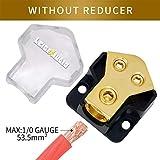 LEIGESAUDIO 0/2/4 Gauge in 4/8 Gauge Out 2 Way Amp