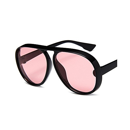 Gafas gafas redondo de Estilo a de Unisex unisex sol viento Retro hombres mujeres Elegante Protección ocio clásicos ocio prueba de de marco de de sol UV conducción Rosado de sol negro para Gafas sol de Gafas gATgxSBqw