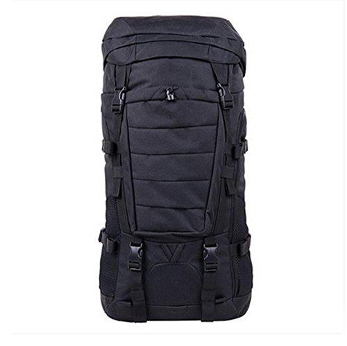 BUSL bolso del alpinismo del hombro de la mochila a prueba de agua al aire libre los hombres y las mujeres viajan capacidad de montar mochila de senderismo . b C