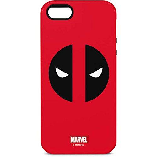 separation shoes c6fdf 46771 Amazon.com: Deadpool iPhone 5/5s/SE Case - Deadpool Logo Red ...