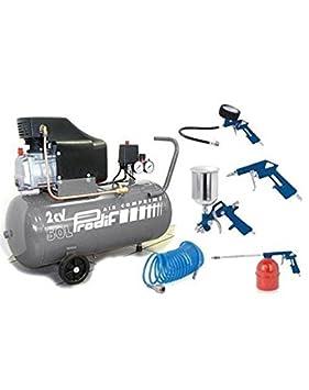 compresseur 50 litres prodif 853j + 5 outils f  Amazon.fr  Bricolage 32e97b73cd60