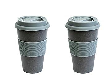 Magu Bambus Becher Coffee To Go Natur Design Schiefer 136 465 Set