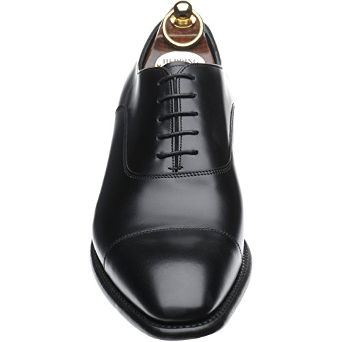 Hareng Churchill II Oxford en noir Mollet - noir - Black Calf, 44