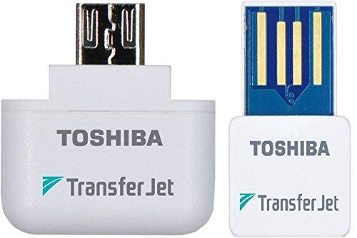 Toshiba TransferJet (transfer jet) USB / MicroUSB adapter set pack TJ-MUA00B