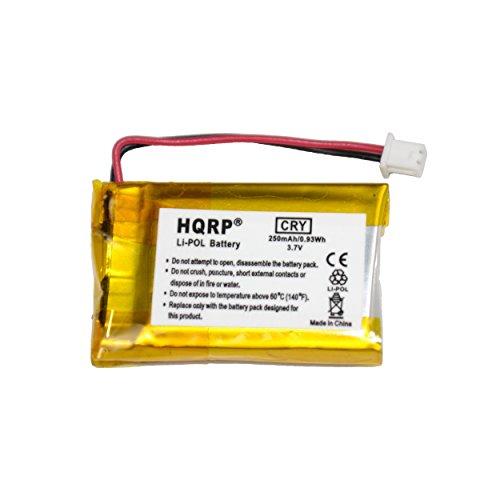 HQRP Battery for VXI Blue Parrott 052030, 502030 fits BlueParrott B250-XT, B250-XT+ Wireless Bluetooth Headset, Roadwarrior, Blue-Parrot PL602030 Plus HQRP Coaster
