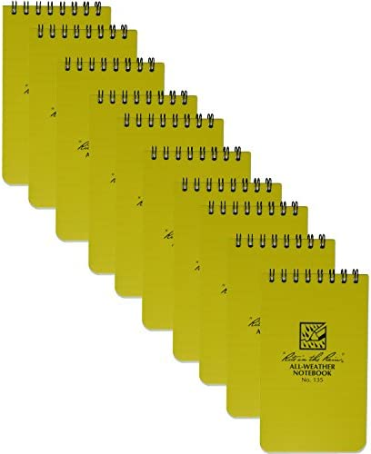 Rite Rain All Weather Notebook 10 Pack product image