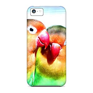Top Quality Cases Covers For Iphone 5c Cases With Nice Lovely Exotic Bird Appearance