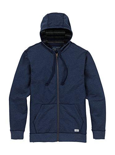 Burton Men's Subvert Full-Zip Hoodie, Mood Indigo, (Burton Print Sweatshirt)