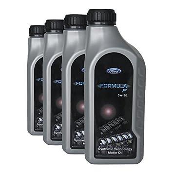 Aceite para motor Ford Fórmula F 5W-30, 4 litros: Amazon.es: Coche y moto