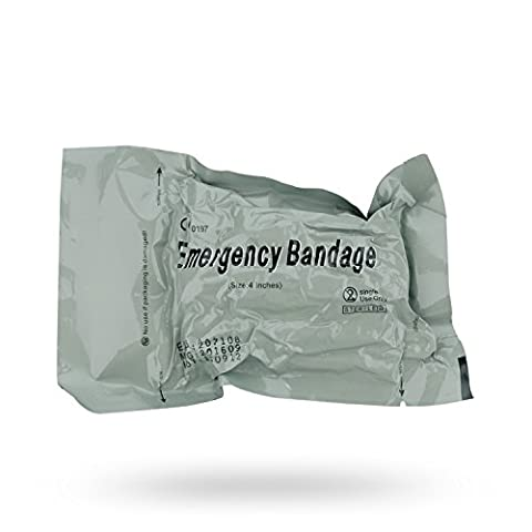 Israeli Combat Bandage Battle Dressing First Aid Medical Compression Bandage, Emergency Bandage (4 - First Aid Dressing Medicine