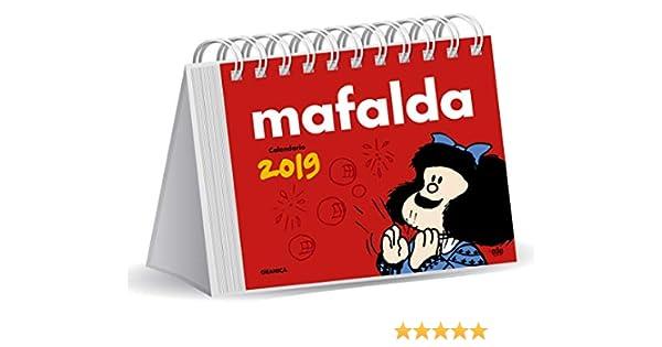 847c91e71 Granica GB00109 - Mafalda 2019 calendario escritorio: Amazon.es: Libros