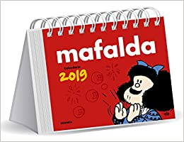 Mafalda 2019 Calendario de escritorio - Rojo (Spanish Edition ...