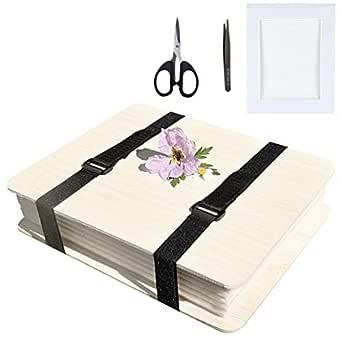 MILISTEN - Kit para la prensa de flores libro para la