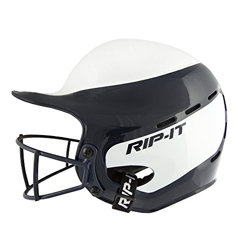 Rip-It Vision Pro Home Softball Batting Helmet (Navy, Extra Small) by RIP-IT