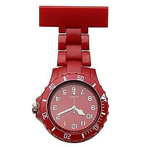 LinTimes Women's Girls' Fashion Nurse Watch Silicone Jelly ...