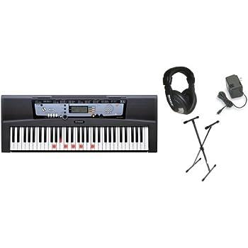 Yamaha ez 200 61 full sized touch sensitive for Yamaha keyboard amazon
