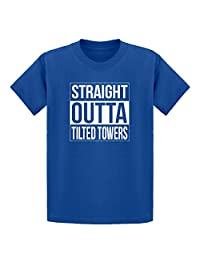 Indica Plateau Youth Straight Outta Tilted Towers Kids T-Shirt