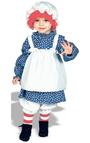 Raggedy Ann Costume - Toddler Costume - 2-4 by -