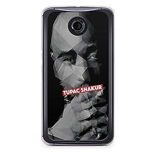Tupac Nexus 6 Transparent Edge Case - Heroes Collection